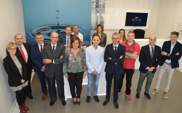 MIXER & PACK IS VISITED BY JCCM ON THE OCCASION OF ITS NEW PRODUCTION CENTRE