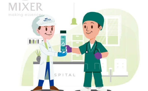 MIXER & PACK BECOMES SUPPLIER OF HYDROALCOHOLIC STERILISING SOLUTIONS FOR THE MINISTRY OF HEALTH